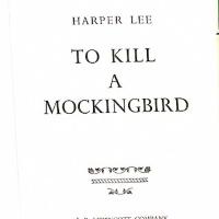 318px-Harper_Lee_To_Kill_a_Mockingbird_1960_Title